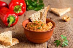 Хумус с красным перцем - кулинарный пошаговый рецепт с фото на KitchenMag.ru