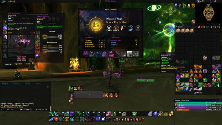 """Found out why my DPS felt """"off"""" in my first Mythic 15 clear... #worldofwarcraft #blizzard #Hearthstone #wow #Warcraft #BlizzardCS #gaming"""