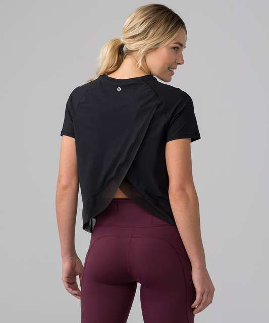Quick Pace Short Sleeve – Black (First Release) – Fitness Inspo
