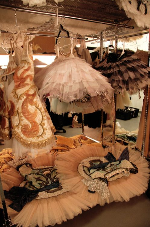 Beautiful story ~ peeking in the dressing room of the National Ballet of Canada's production of Sleeping Beauty.