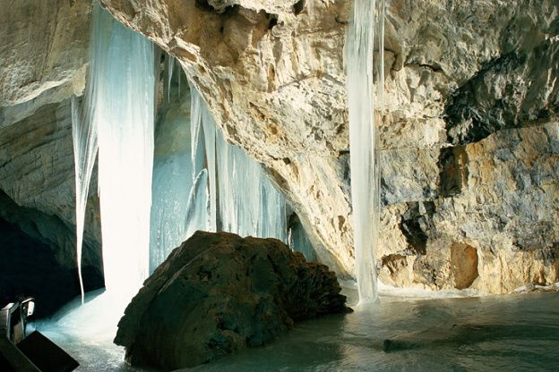 Dobsinska Ice Cave :  This is one of the most beautiful cave of Slovakia and it is truly declared as the Slovak Paradise.