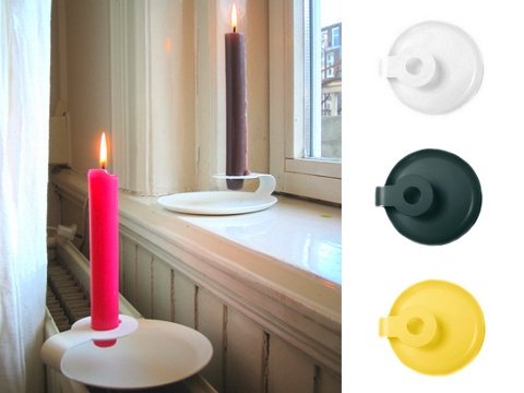 Candle Holder by Hanna Zoon: available from Gselect: $22