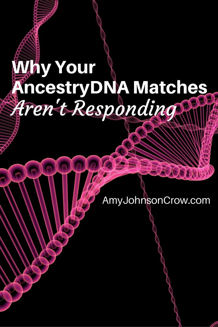 DNA holds countless clues for genealogy, but there are reasons why your AncestryDNA matches aren't answering you.