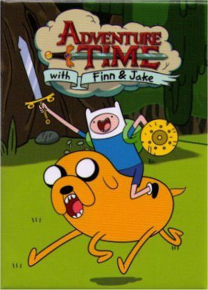 Adventure Time with Finn & Jake Charge Magnet AM4394 @ niftywarehouse.com