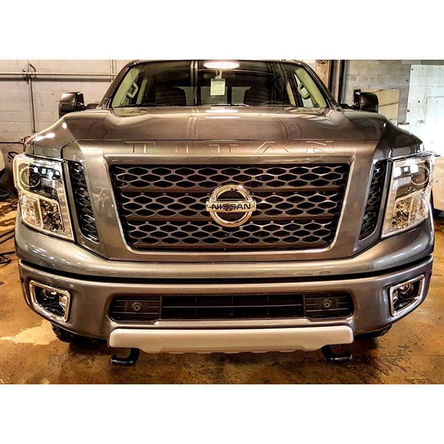 #mulpix Here's your first look at the beautiful 2016 Nissan Titan XD. Pictures don't even do it justice.  #nissan  #titan  #titanxd  #cummins  #diesel  #superiornissan  #pro4x  #truckporn  #torque  #turbo  #nismo  #crewcab  #brandnew
