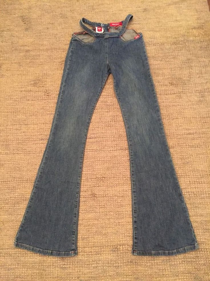 The waist measures 14.5 inches and the length measures 33 inches. | eBay!