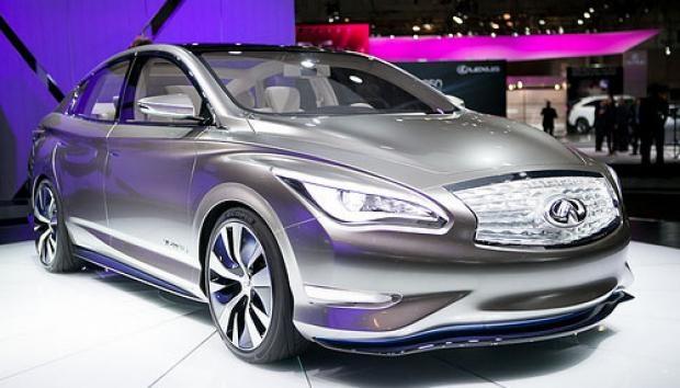 O Le Concept, da Nissan, é da marca de luxo Infiniti e pode rodar até 160km com sua bateria de íons de lítio com apenas uma recarga.