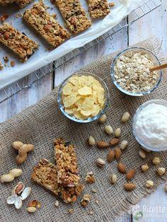Come fare le barrette ai cereali e frutta secca