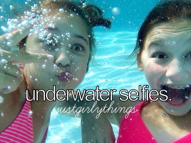 Underwater selfies ♡
