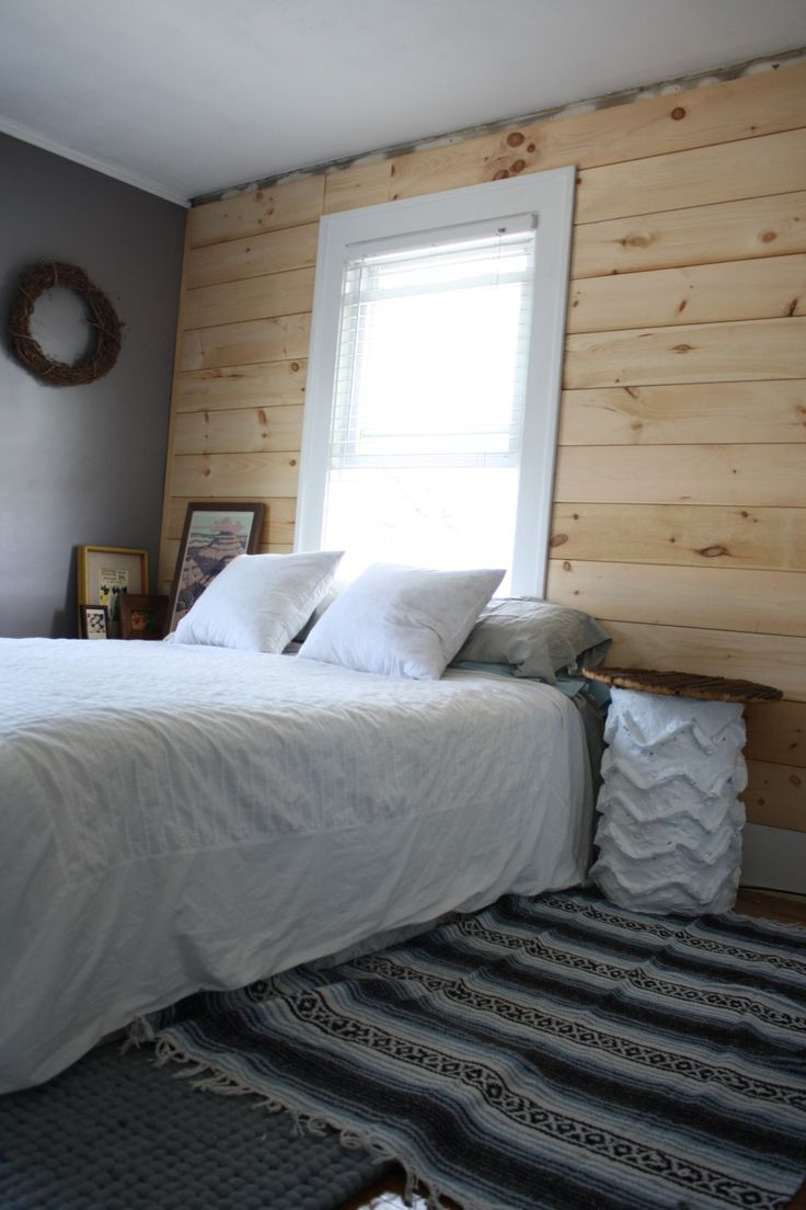 Shiplap For A Cozy Bedroom