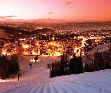 America's Best Towns for the Holidays: Park City, UT