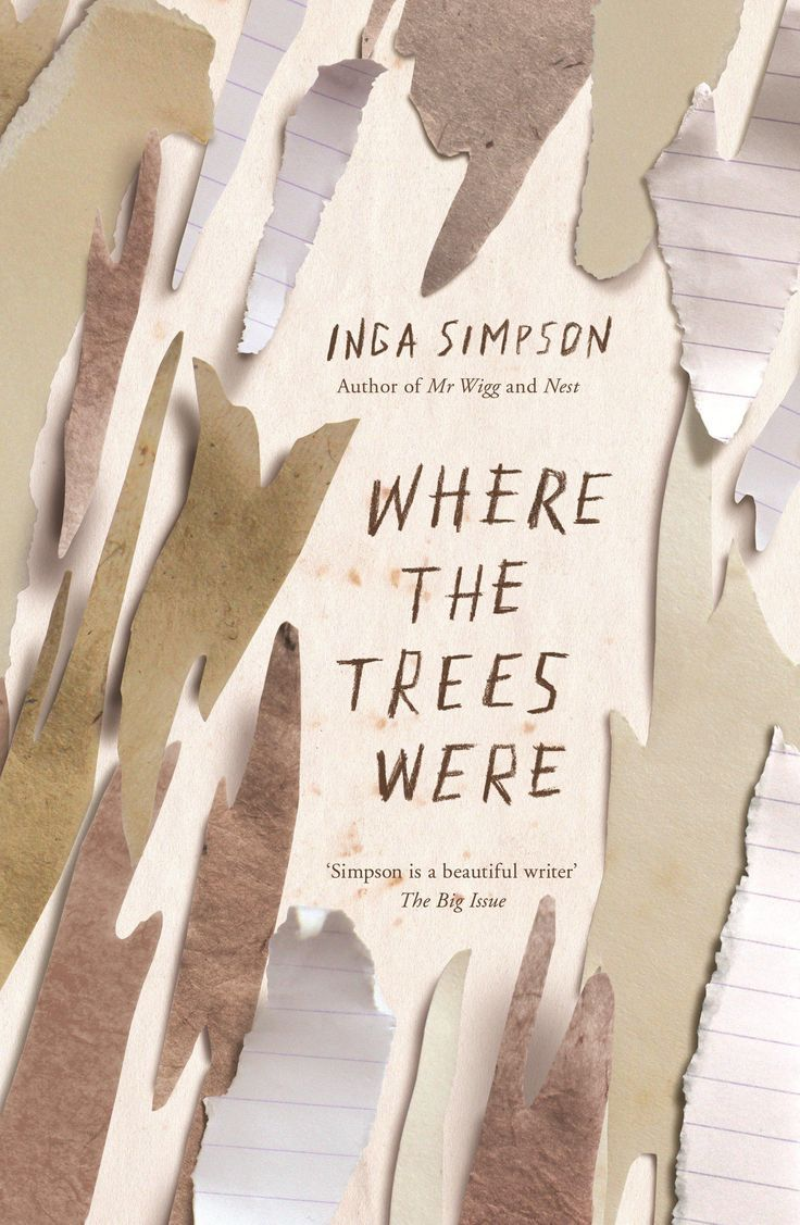 Where the Trees Were | book jacket design. book cover design. publications design. books. graphic design. visual communications.