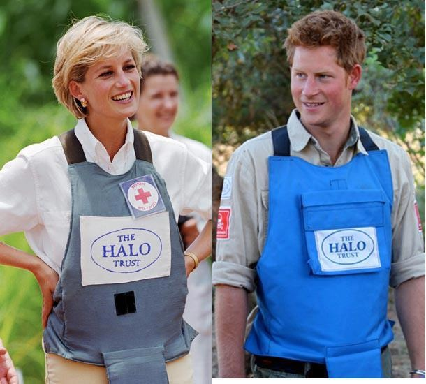 Diana & Harry For the Charity HALO