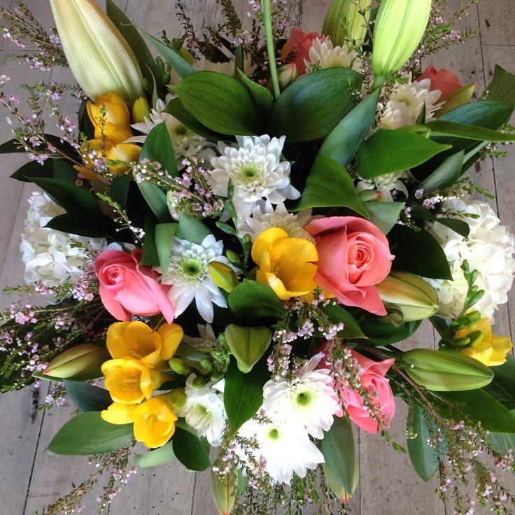 Soft 'n' sweet springtime bouquet.