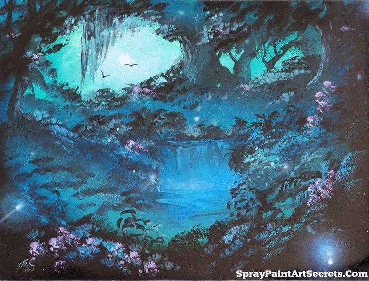 242 best spray paint art secrets images on pinterest. Black Bedroom Furniture Sets. Home Design Ideas