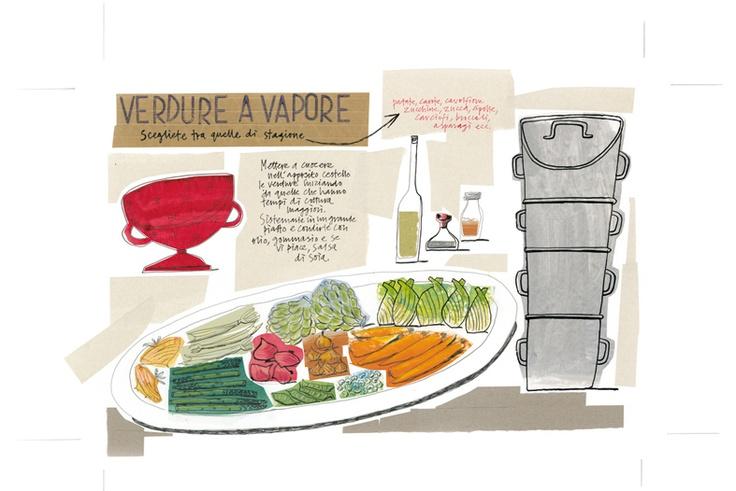 Giulia/Julia Binfield - Steamed Vegetables