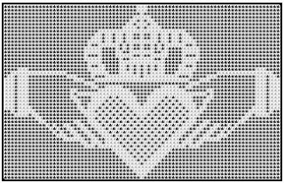 filet crochet celtic | Filet crochet