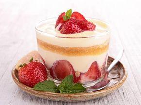 Tiramisu aux fraises : Recette de Tiramisu aux fraises - Marmiton