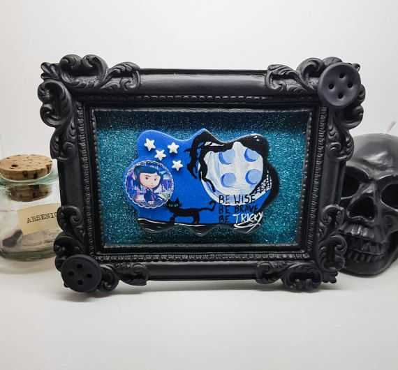 Check out this item in my Etsy shop https://www.etsy.com/uk/listing/468467950/coraline-decoration-coraline-picture