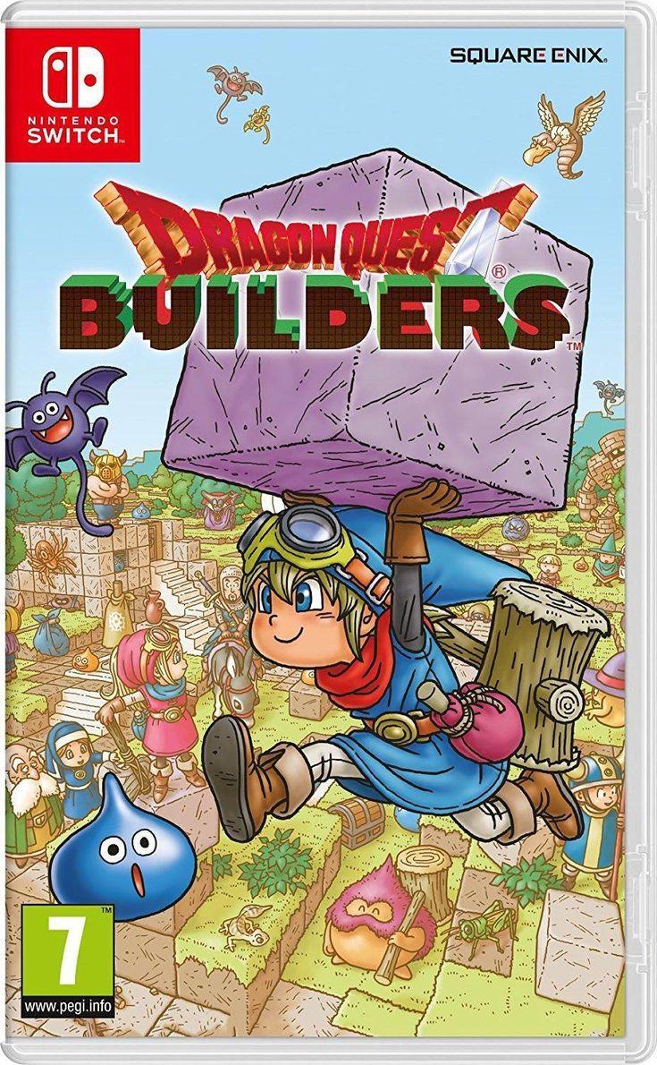 Dragon Quest Builders nintendoswitch Dragon quest