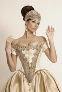 Barok/Rokoko - 17/18. Yüzyıl/Marie Antoinette İlham Düğün