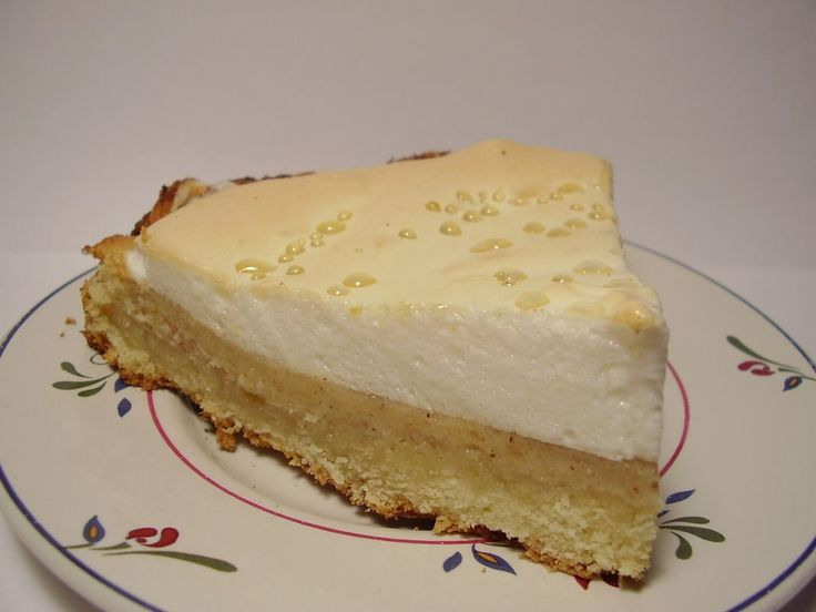 Sencilla receta de Pie de manzana, muy similar al que se hace con limón, pero ahora para darle un sabor distinto.