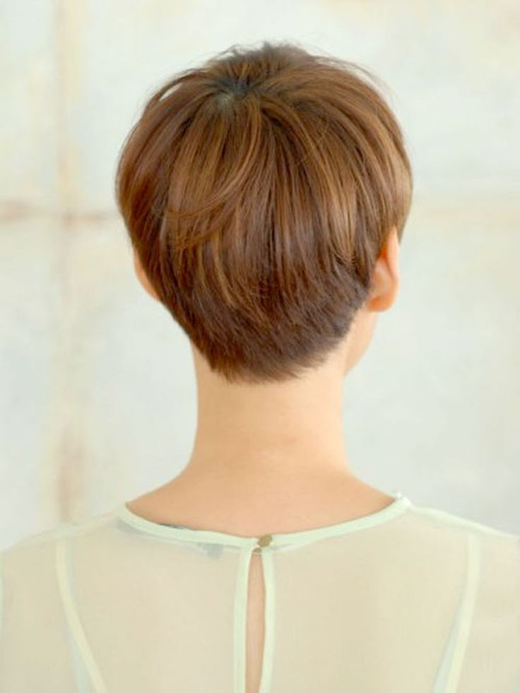 Stylist back view short pixie haircut hairstyle ideas 26