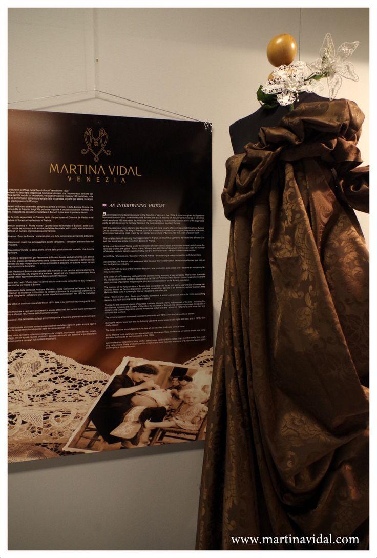 Mostra di Merletti Martina Vidal #abilmente exhibition of lace