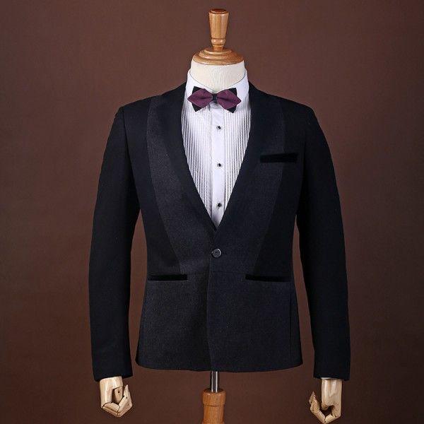 レジャースーツ/紳士服/ビジネス/結婚式 細身型 qzw-215B04905 1