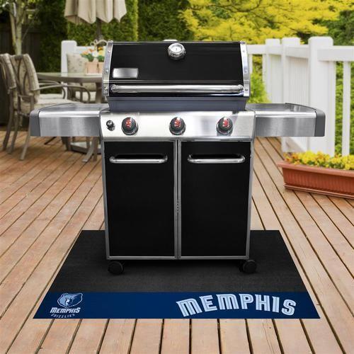 Memphis Grizzlies Grill Pad Mat