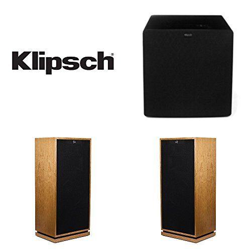 Klipsch Forte III Floor-Standing Speaker Pair Bundled With