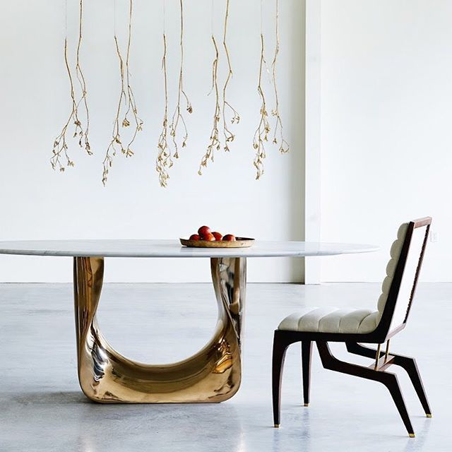 Coupdetatsf Shown Here Is Our Coup Studio Maverick Dining Table