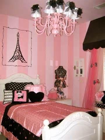 84 best Girls Paris-themed bedroom images on Pinterest | Paris ...