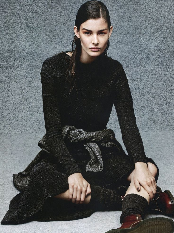 Vogue Russia September 2014 | Ophelie Guillermand by Jason Kibbler  [Editorial]