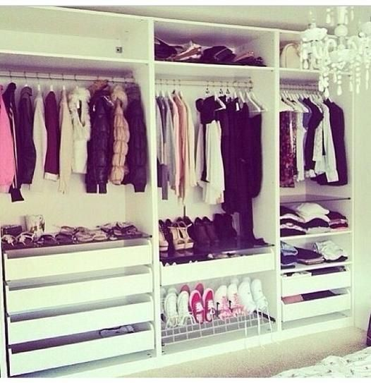 40 Ways to Organize Your Closet