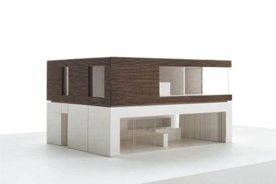 John Pawson Architects - M&S Lifestore House Model.