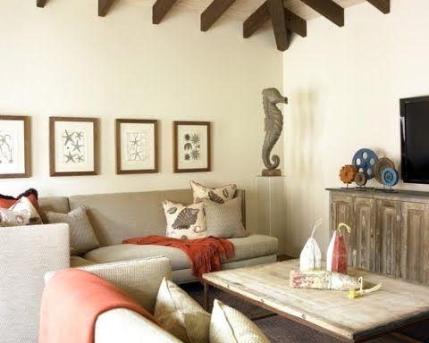 beach beige room: Decor, Interior, Living Rooms, Beach House, Beach Style, Design Ideas, Family Rooms, Room Design