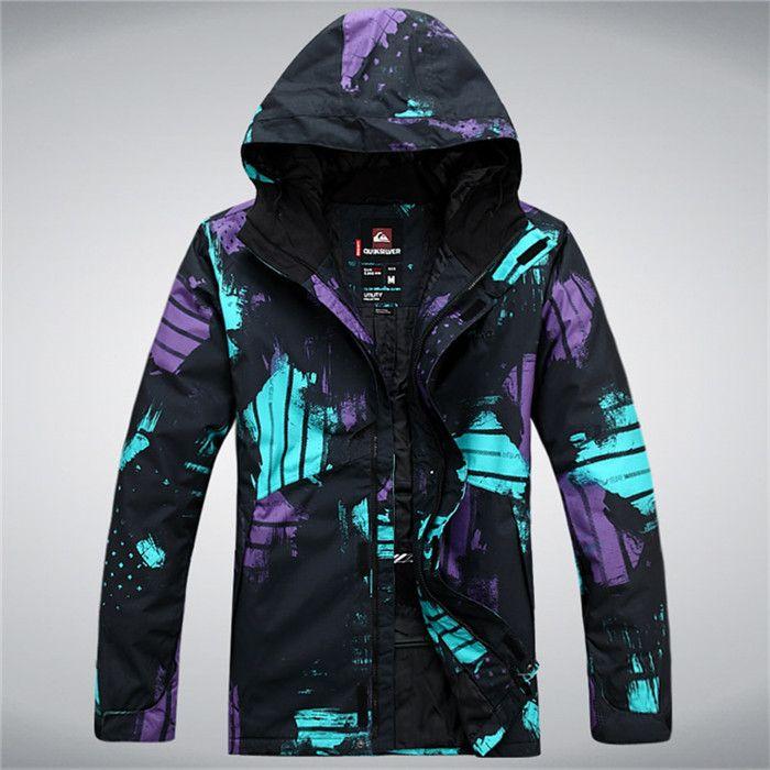 Бесплатная доставка 2014 новый Большой размер Мужские сноуборд лыжная куртка высокого качества лыжные куртки, сноуборд одежда Ветрозащитный пальто мужские