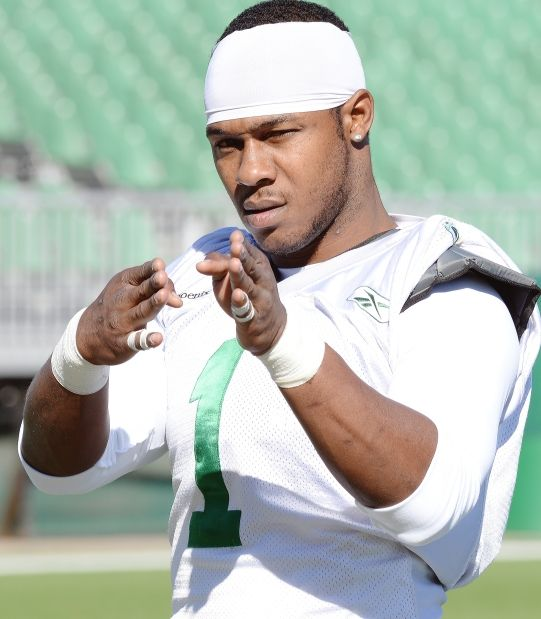 Kory Sheets ready to roll for Saskatchewan Roughriders
