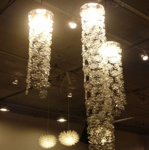 CRAFTS MADE  OUT OF 2 LITTLE BOTTALS | This one is made out of the bases of 2 liter bottles. They are long ...