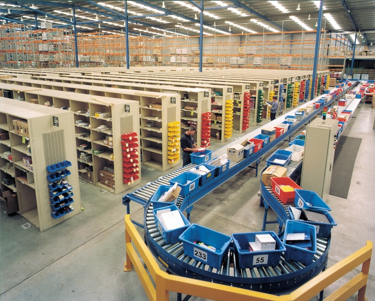 Dematic Has Developed A Range Of Warehouse Logistics And