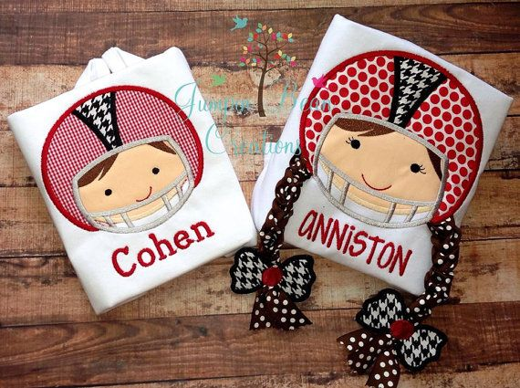Matching Brother Sister Alabama shirt big by JumpinBeanCreations