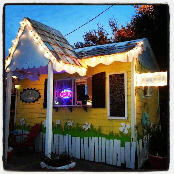 Orlando Home Decor Stores: Lu Lu's Ice Cream Shop Tonight In Beautiful 70° Weather In