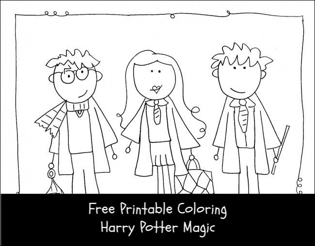 Harry Potter Coloring Page In 2020 Harry Potter Coloring Pages Harry Potter Diy Harry Potter Printables Free