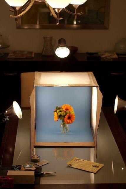 diy lightbox