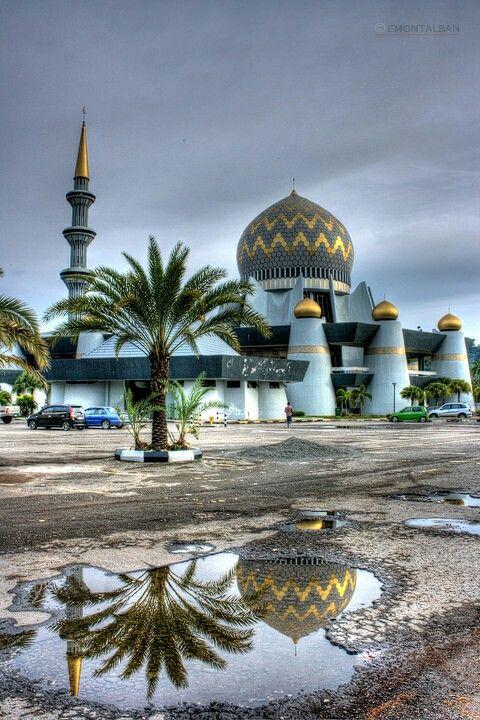Sabah State Mosque, Kota Kinabalu, Malaysia