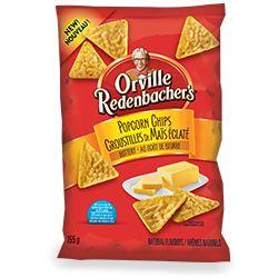 Économisez 1$ sur les croustilles de maïs éclaté Orville Redenbacher's (155 g)
