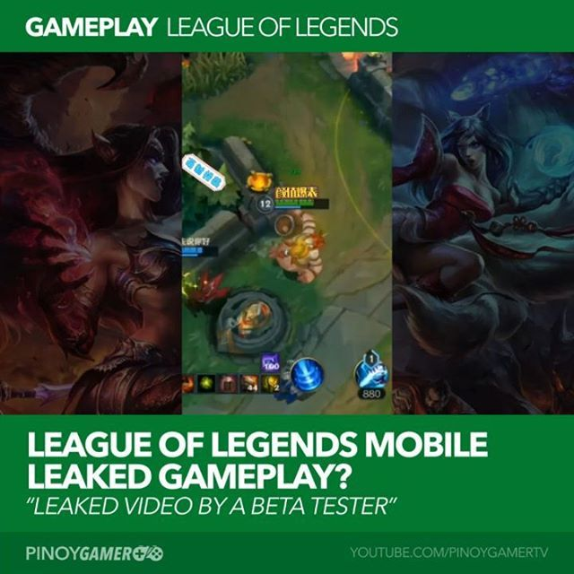 League Of Legends Mobile Gameplay Lol Leagueoflegends League Of Legends Mobile Legends Top Game