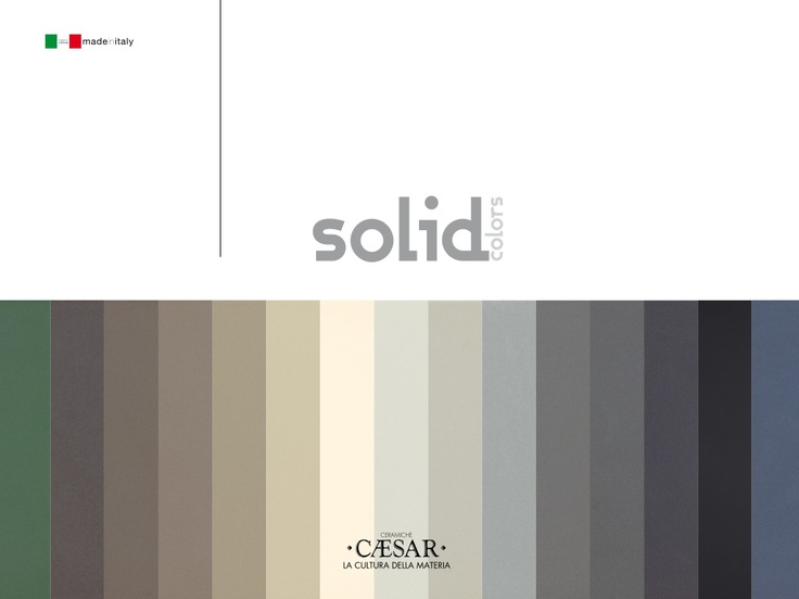 solid colors new-collection floor tiles 2012 by Ceramiche Caesar
