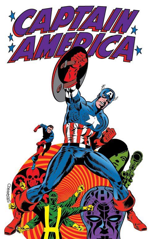 Comic Book Cover Graphics : Comic book artist jim steranko movies music books